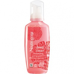 深層淨化活顏潔面慕斯 deep clean revitalizing pink grapefruit ultra foam cleanser
