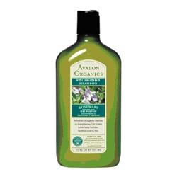 AVALON ORGANICS 經典綠瓶系列-迷迭香豐盈洗髮精