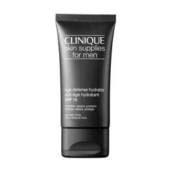 CLINIQUE 倩碧 男仕臉部保養-男仕青春保溼霜 SPF15 Skin Supplies for Men Age Defense Hydrator SPF 15