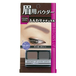 高質感雙色眉粉 BROWS UP POWDER EYEBROW NATURAL BROWN
