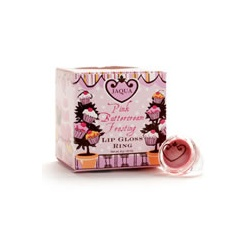 JAQUA 唇蜜-粉紅聖代 - 唇蜜戒指 Pink Buttercream Frosting Lip Gloss Ring