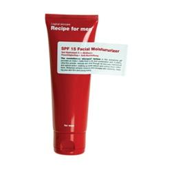Recipe for men 保養系列-SPF15 Facial Moisturizer SPF15 Facial Moisturizer
