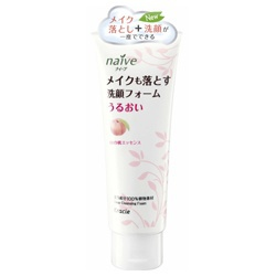 蜜桃植物雙效洗面乳 Foaming Facial Cleanser removes makeups (Peach)