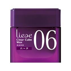 06塑型持久髮蠟 Clear Cube Wax 06 Wax Hard