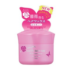 薔薇自然亮澤髮腊 Happy Bath Day Precious Rose Hair Wax Shiny