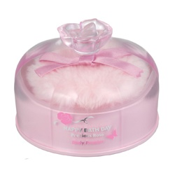 女性香氛產品-薔薇花蜜香體粉 Happy Bath Day Precious Rose Body Powder