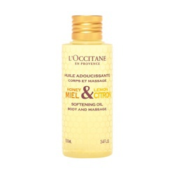 蜂蜜檸檬潤膚按摩油 Softening Oil