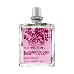 The Body Shop 美體小舖 女性香氛-摩洛哥玫瑰淡雅香水 MOROCCAN ROSE EDT