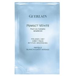 GUERLAIN 嬌蘭 完美肌綻白系列-完美肌綻白瞬間淨白面膜 PERFECT WHITE advanced, Melanin Diet Sheet Mask