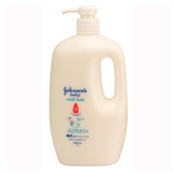 Johnson`s 嬌生 寶寶身體保養-嬰兒牛奶沐浴乳 milk bath