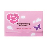 薔薇香氛吸油面紙 Happy Bath Day Precious Rose Fragrance Blotting Film