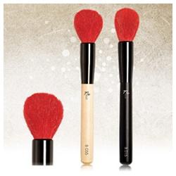 Kelly Professional Kelly專業彩妝 臉部刷具系列-紅色時尚專業蜜粉/腮紅刷 Red Powder/Blush Brush