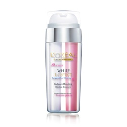 L`OREAL PARiS 巴黎萊雅 精華‧原液-完美淨白粉透嫩白極亮雙效精華 White White Perfect Transparent Rosy Whitening Radiance Boosting Double Essence