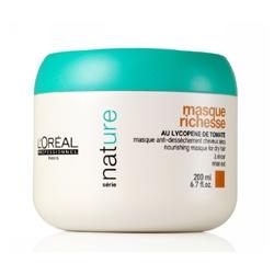 L`OREAL PROFESSIONNEL 萊雅專業沙龍美髮 Série Nature 植萃洗護系列-茄紅水潤髮膜