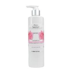 SE大馬士革玫瑰精萃染燙受損修護洗髮精