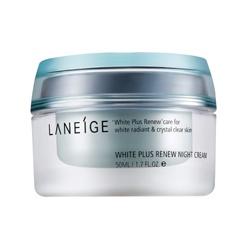 LANEIGE 蘭芝 黃金亮白保養系列-黃金亮白修復晚霜 White Plus Renew Night Cream