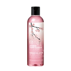 The Body Shop 美體小舖 日本櫻花系列-日本櫻花沐浴膠