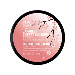 The Body Shop 美體小舖 日本櫻花系列-日本櫻花身體美膚霜
