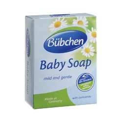 Baan 貝恩 Bübchen全家系列-洋甘菊精華複方潔膚香皂 Baby Seife