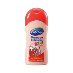 Baan 貝恩 Bübchen童趣系列-草莓精華複方洗髮沐浴乳 Shampoo & Shower Erdbeere