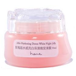 heme 玫瑰超水感系列-玫瑰超水感亮白保濕晚安凍膜 24hr Hydrating Detox-White Night Jelly