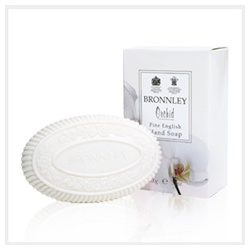 Bronnley 御香坊 蘭花花香系列-蘭花雕花浴皂 Soap of Orchid