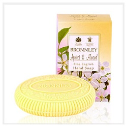 Bronnley 御香坊 杏桃花香系列-杏桃雕花單皂 Apricot & Almond Hand Soap