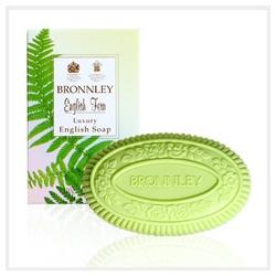 Bronnley 御香坊 羊齒系列-羊齒雕花皂 English Fern Luxury English Soap