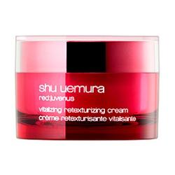 shu uemura 植村秀 紅の活妍肌精系列-紅の活妍肌精乳霜 red:juvenus vitalizing retexturizing cream