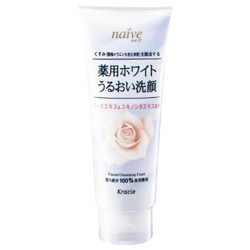 玫瑰淨白洗面乳 Whitening Moisture Rich Facial Cleanser