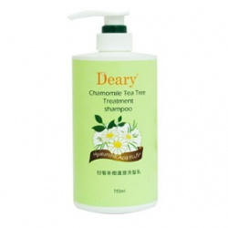 Deary 媞爾妮 洗髮-甘菊茶樹護理洗髮乳 Chamomile Tea Tree Treatment Shampoo