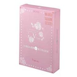 heme 玫瑰超水感系列-玫瑰超水感雙V彈力亮白面膜 24hr Hydrating Ultra-White Lift V-Mask