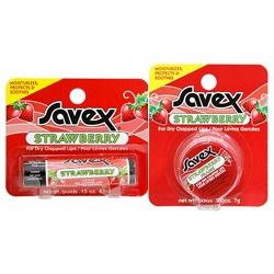 Savex 莎薇 唇部保養-草莓護唇膏