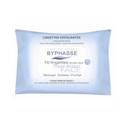 BYPHASSE 蓓昂斯 臉部保養-三效柔膚巾 EXFOLIATING WIPES