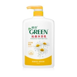 綠的抗菌沐浴乳(洋甘菊精油) Chamomile Essential Oil Antibacterial Health Bath