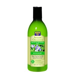 迷迭香沐浴露 Organic Rosemary Bath & Shower Gels