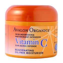 AVALON ORGANICS 乳霜-維他命C活力乳霜 Vitamin C Rejuvenating Oil-free Moisturizer