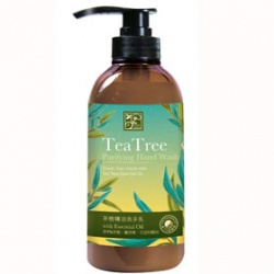 手部清潔產品-茶樹精油洗手乳 Teatree Purifying Hand Wash With Essential Oil