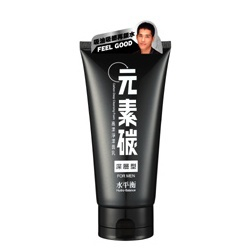 元素碳高潔淨潔面乳(深層型)FOR MEN Carbon Deep Cleansing Foam / Pure(For Men)