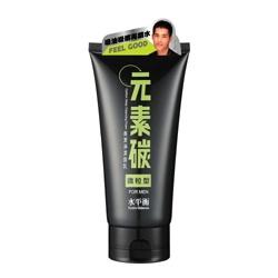 hydrobalance 水平衡 元素碳系列-元素碳高潔淨潔面乳(微粒型)FOR MEN Carbon Deep Cleansing Foam / Scrub(For Men)