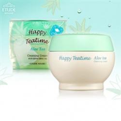 ETUDE HOUSE 臉部卸妝-午茶時光清爽卸妝霜 HAPPY TEA TIME CLEANING CREAM