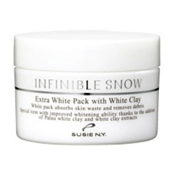 SUSIE N.Y. 保養面膜-淨白無限白凝土水洗式面膜 INFINIBLE SNOW Extra White Pack with White Clay