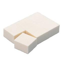 Chacott For Professionals 工具系列-油性粉底專用海綿 Cutting Sponge 6pcs