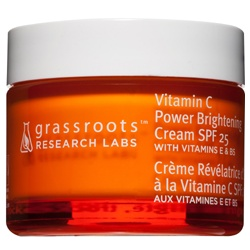 grassroots research labs 果然美研 靚顏C淨白無瑕系列-靚顏C淨白無瑕日霜 SPF25 Vitamin C Power Brightening Cream SPF25