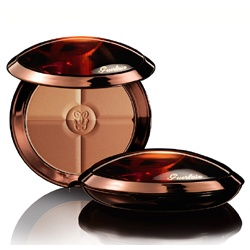 GUERLAIN 嬌蘭 頰彩‧修容-提洛可摩洛哥女神四色修容餅 SPF10 TERRACOTA 4 SEASONS TAILOR-MADE BONZING POWDER WITH PURE GOLD SPF10