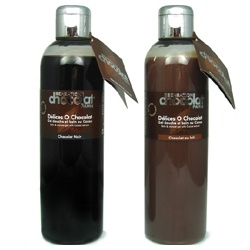 SENSATION chocolat 感覺巧克力 BODY CARE-感覺巧克力乳液 Dark & milk chocolate moisturizing body milks with Cocoa butter