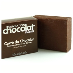SENSATION chocolat 感覺巧克力 BATH & WELL-BEING-感覺巧克力開心皂 Handcrafted 100% vegetal base soaps with Cocoa butter
