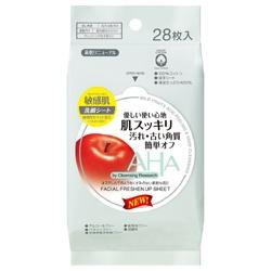 美體用具產品-AHA柔膚溫和潔面巾