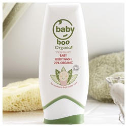 有機草莓沐浴露 Strawberry Baby Body Wash