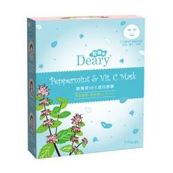 Deary 媞爾妮 面眼膜系列-歐薄荷Vit.C透白面膜